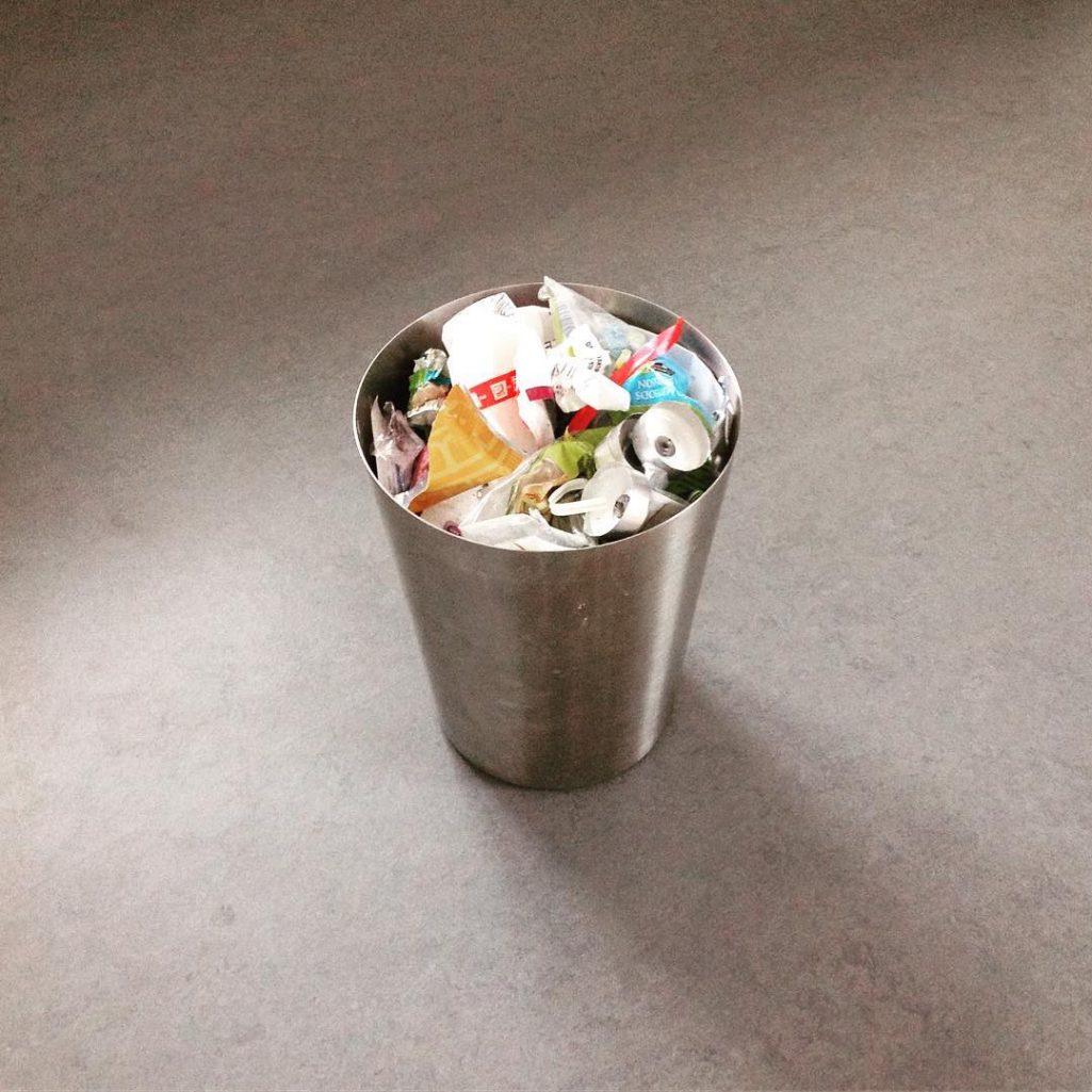 tiny trash can week 1 trash