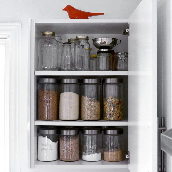 tiny trash can kitchen pantry