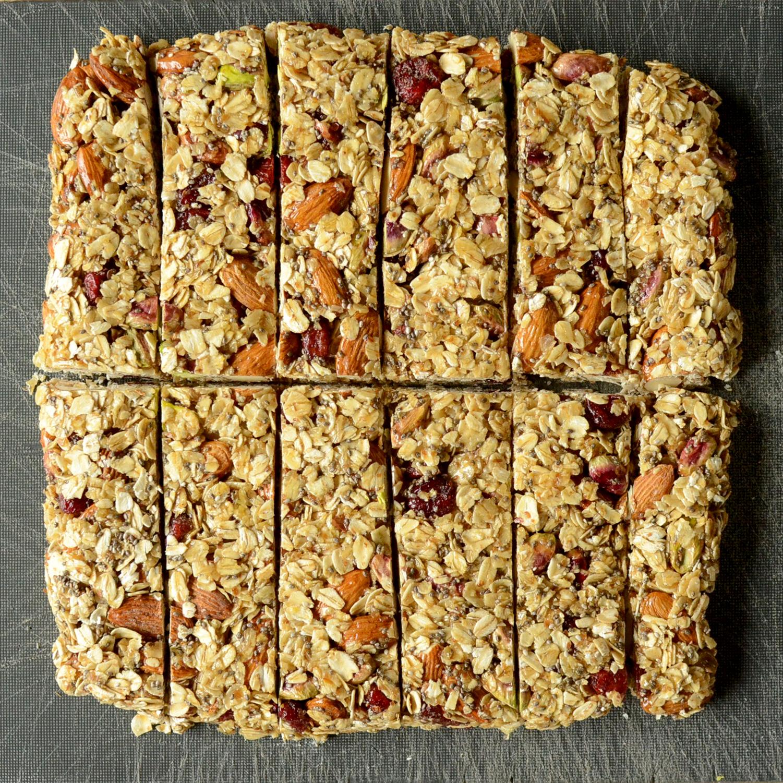 Tiny Trash Can homemade granola bars recipe