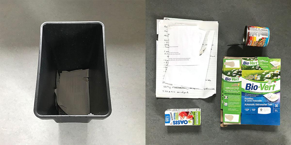 Tiny Trash Can week 23 recycling