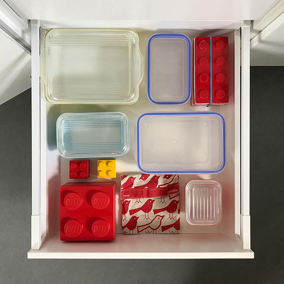 Tiny Trash Can zero waste food storage