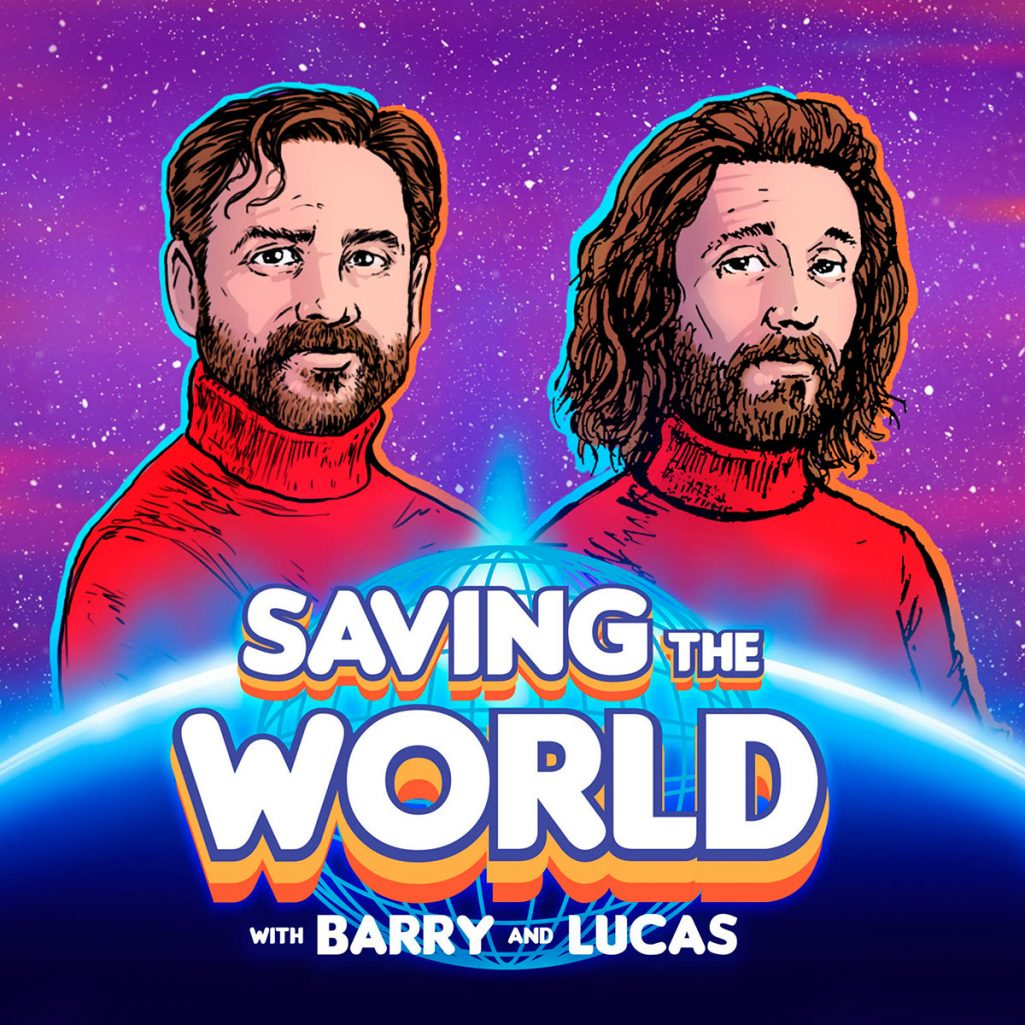Tiny Trash Can Saving the World with Barry and Lucas podcast