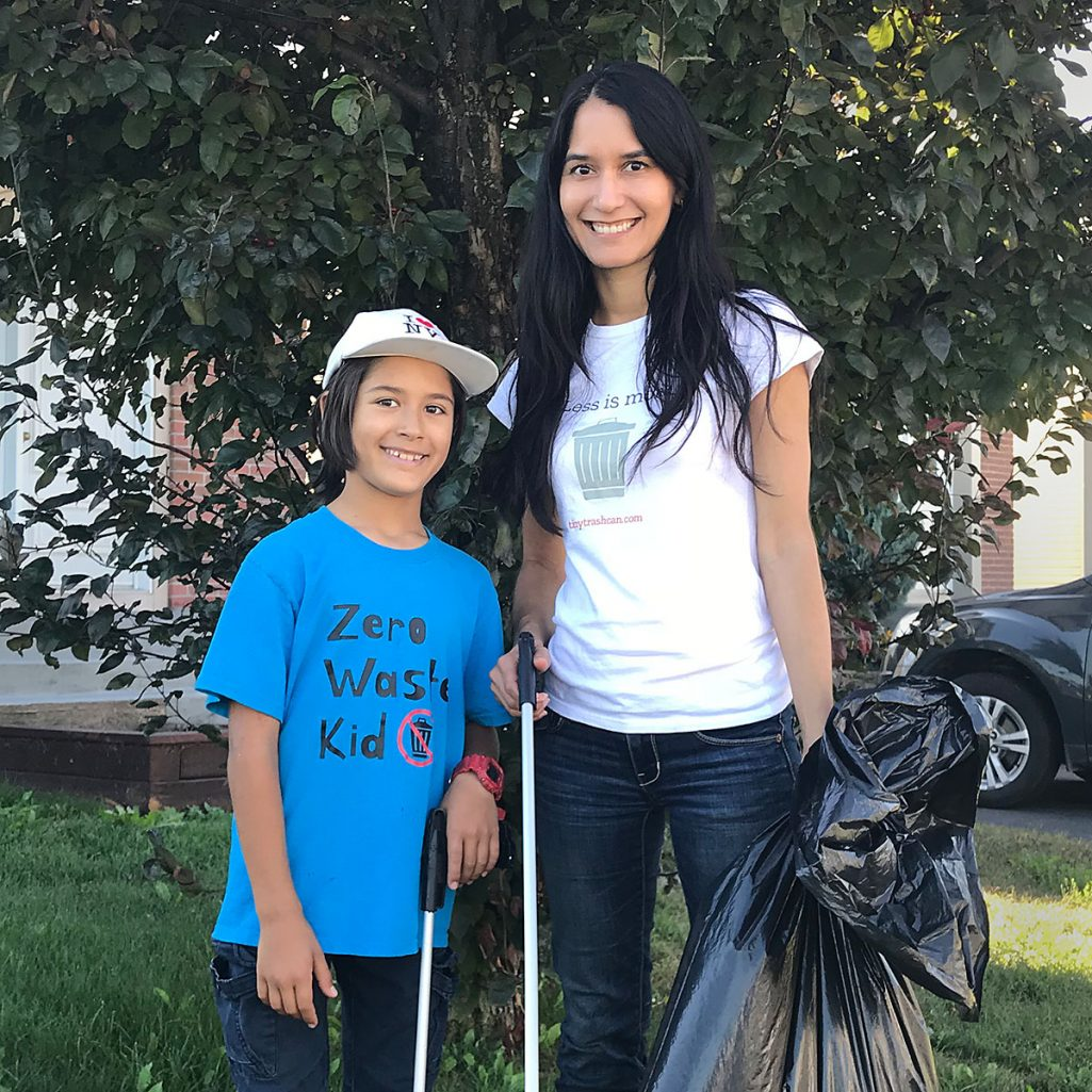 Tiny Trash Can World Cleanup Day 2018 Tippi Thole