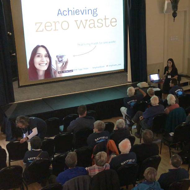 Tippi Thole Blue Bayfield Achieving zero waste talk
