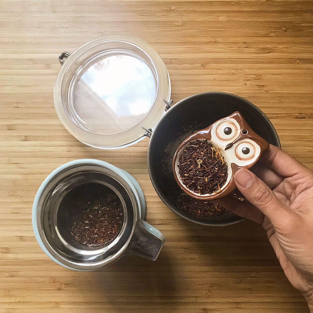 Tiny Trash Can bulk tea