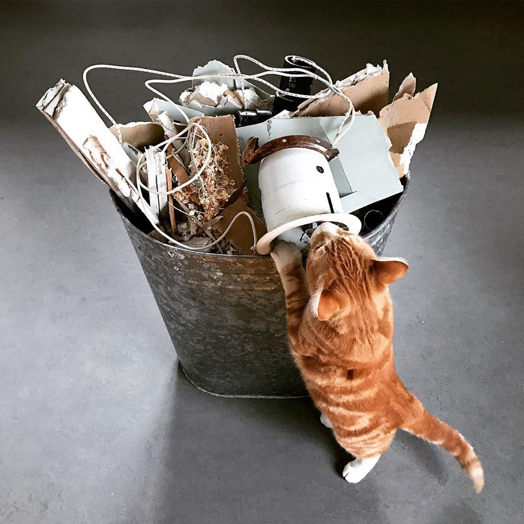 Tiny Trash Can zero waste challenge week 39 trash