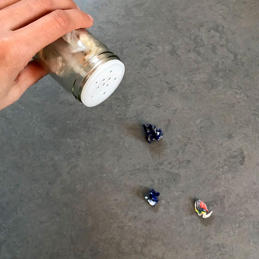 Tiny Trash Can zero waste challenge week 48 trash
