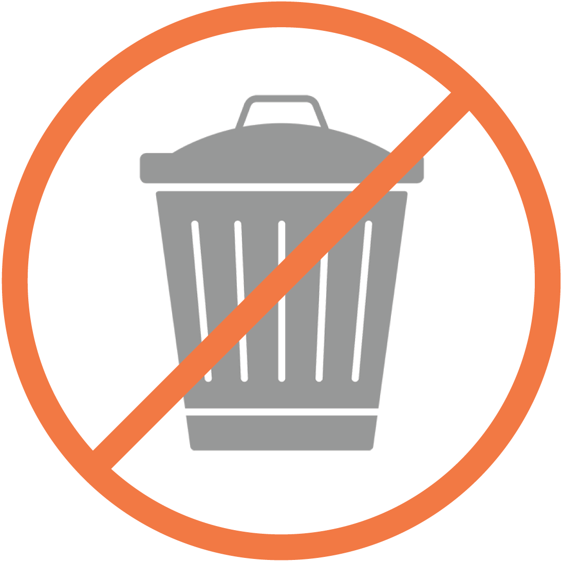 Tiny Trash Can what is zero waste definition
