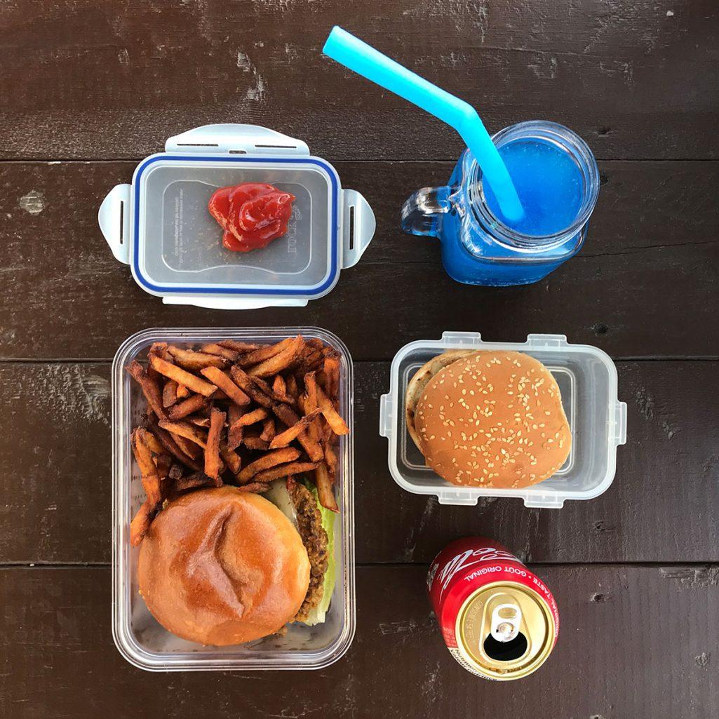 Zero waste fast food