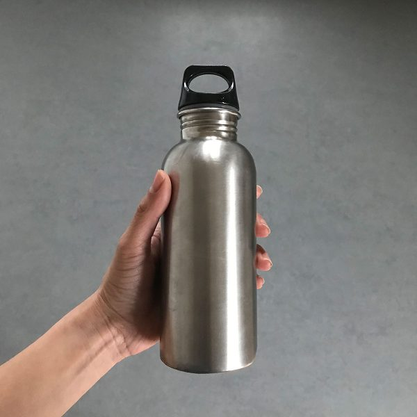 Tiny Trash Can zero waste swaps reusable water bottle