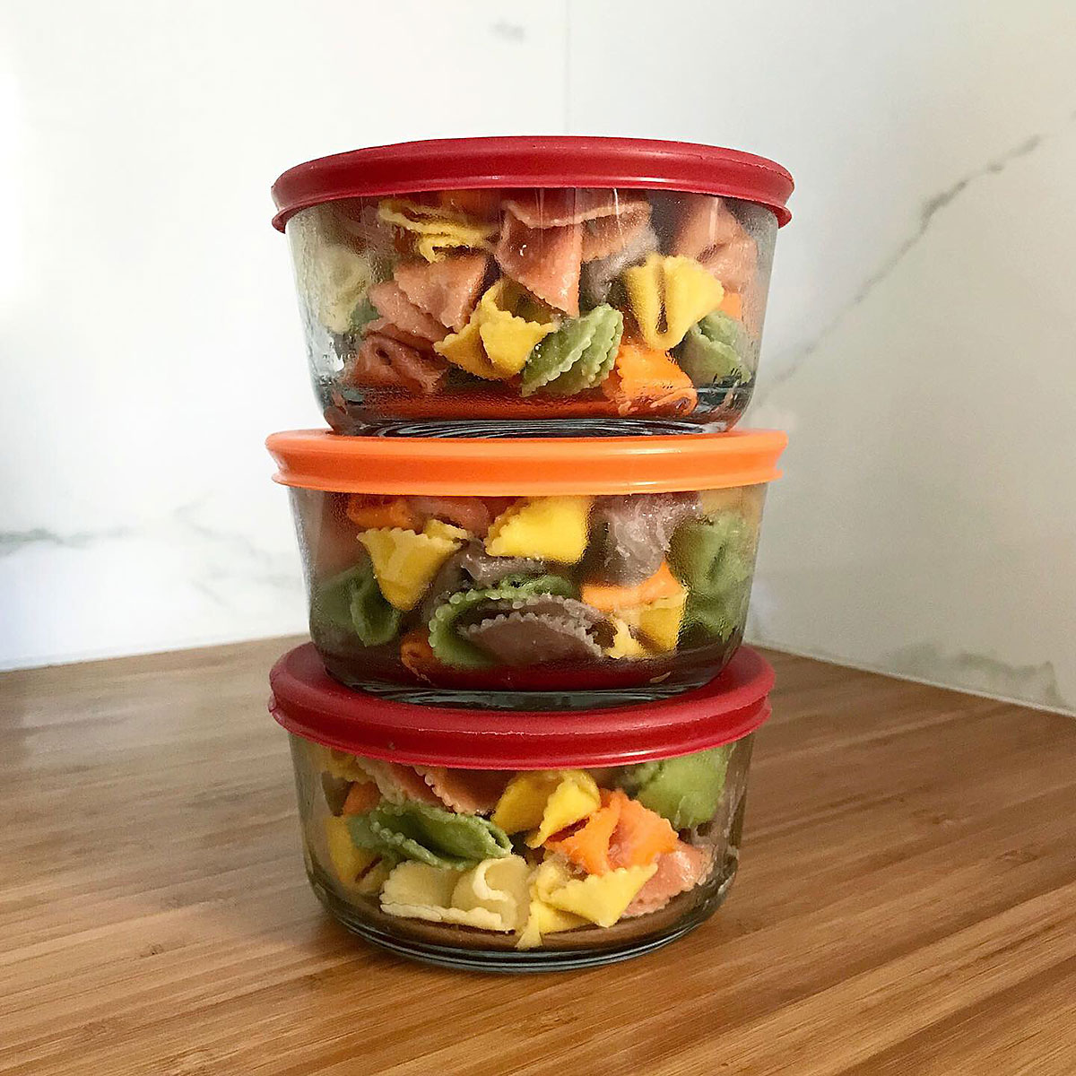 Tiny Trash Can leftovers make zero waste lunches