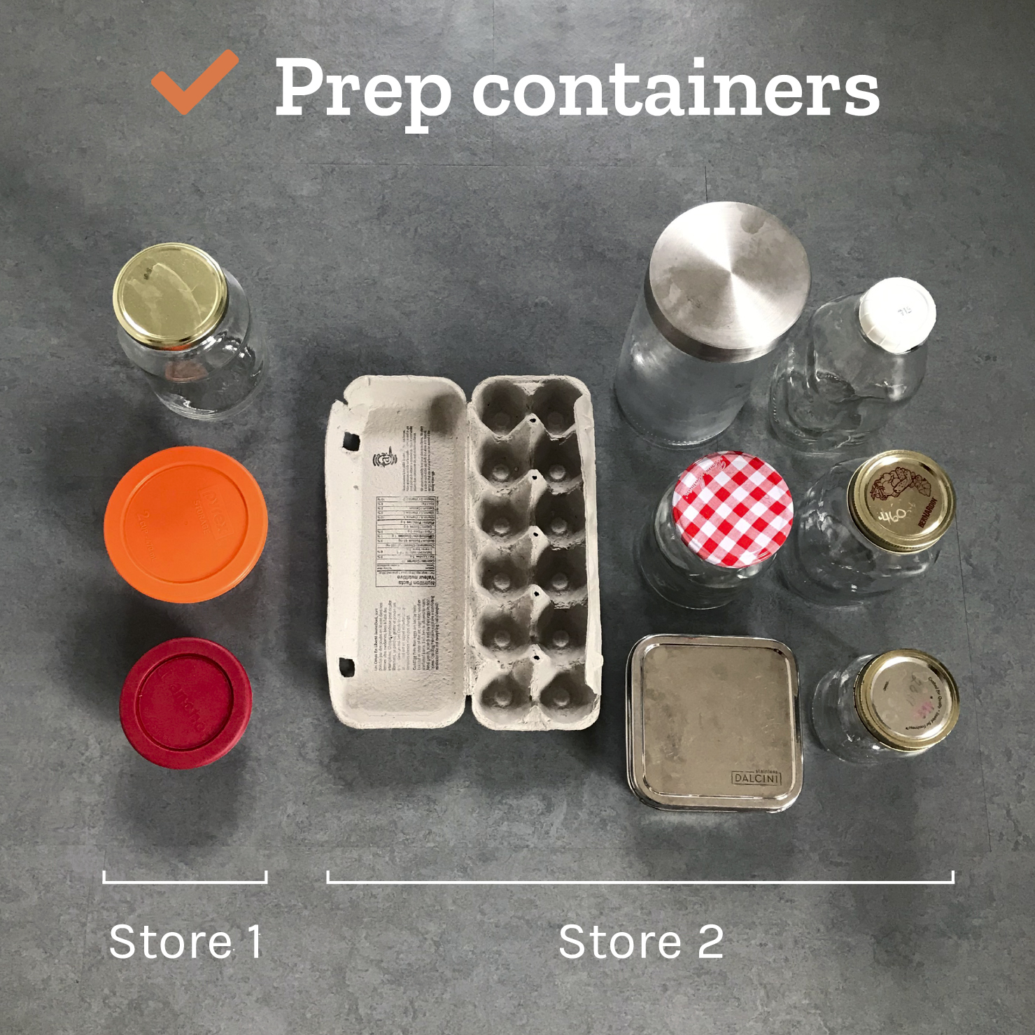 Tiny Trash Can how to shop package-free