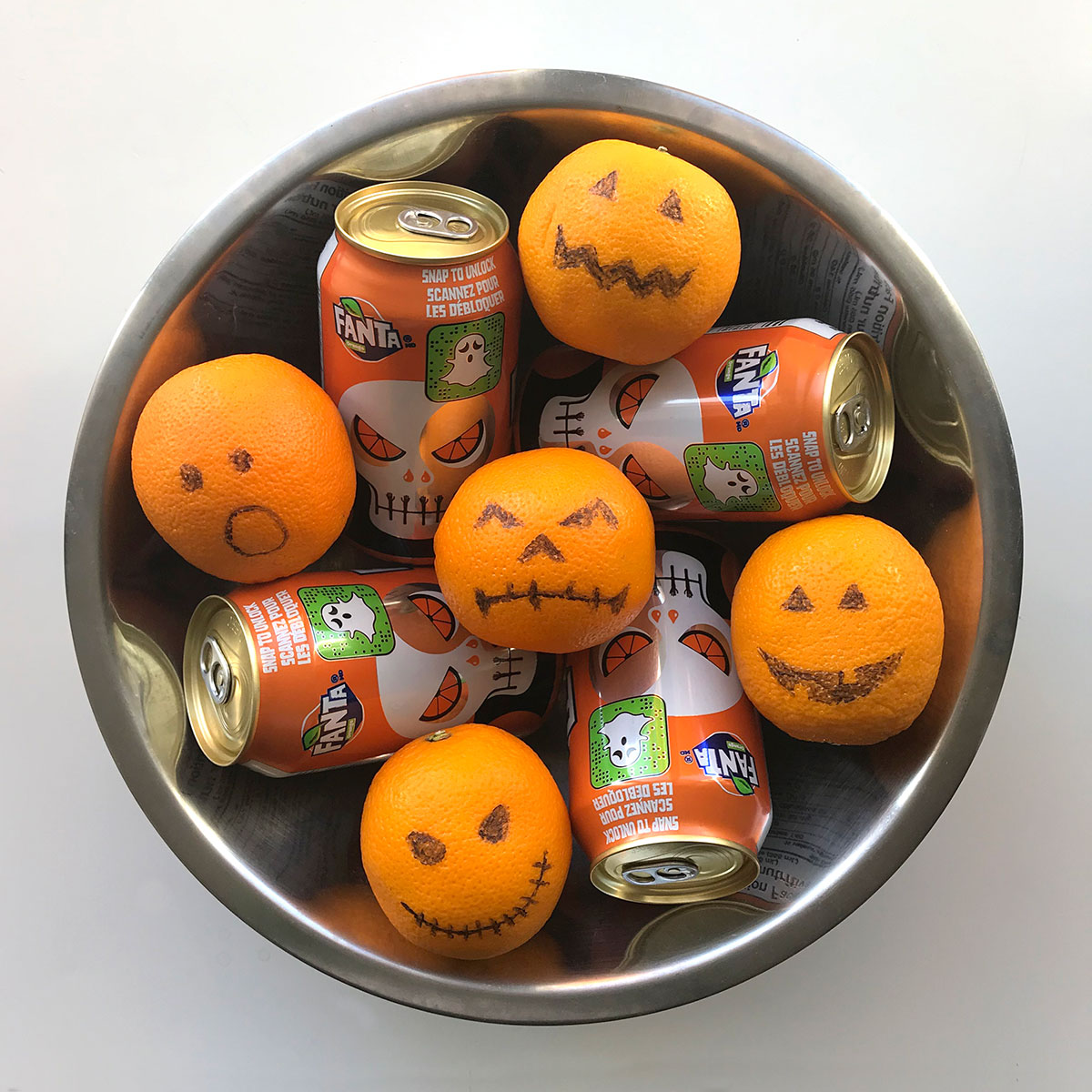 Tiny Trash Can zero waste Halloween candy treat ideas