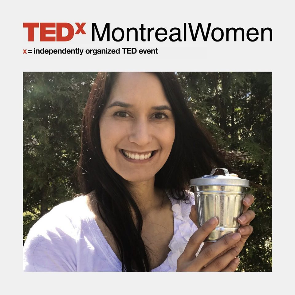 Tiny Trash Can Tippi Thole TEDx Montreal Women