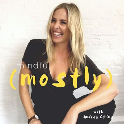 Tiny Trash Can on Mindful Mostly podcast with Andrea Collins