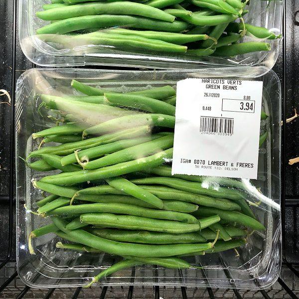 Tiny Trash Can loose veggies at IGA