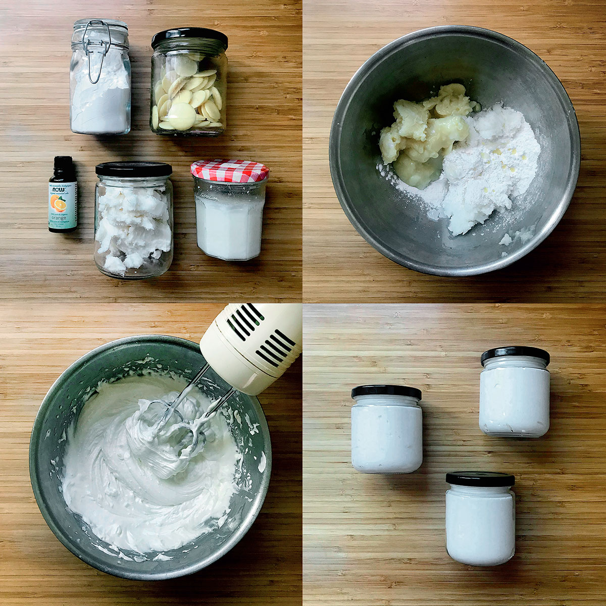 Tiny Trash Can how to make homemade lotion with zero waste