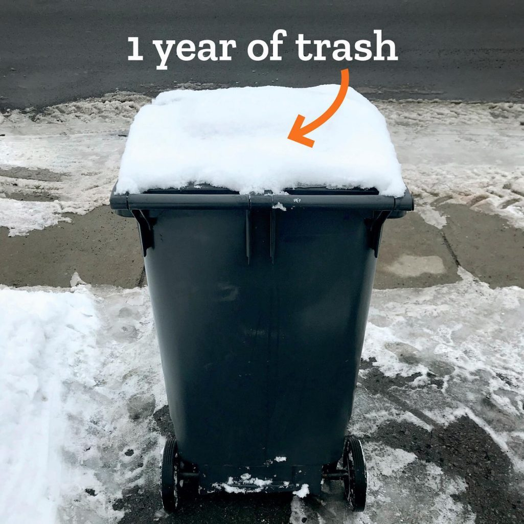 Tiny Trash Can 2020 garbage