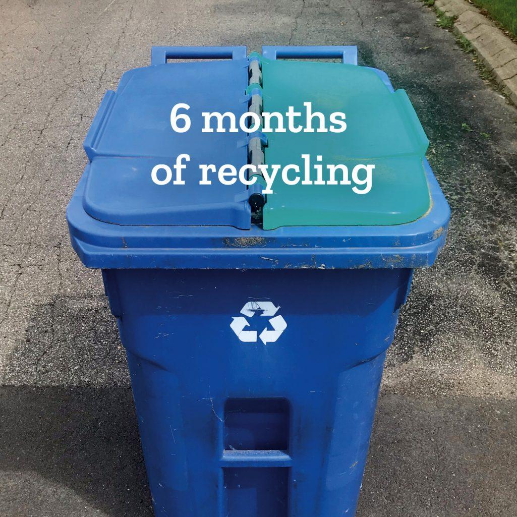 Tiny Trash Can recycling 2021