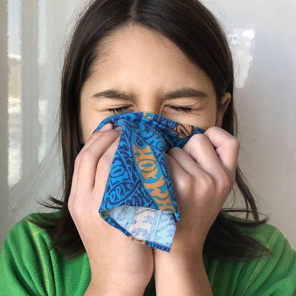 Tiny Trash Can no-sew handkerchiefs