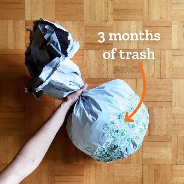 Tiny Trash Can trash diary 2020 second quarter
