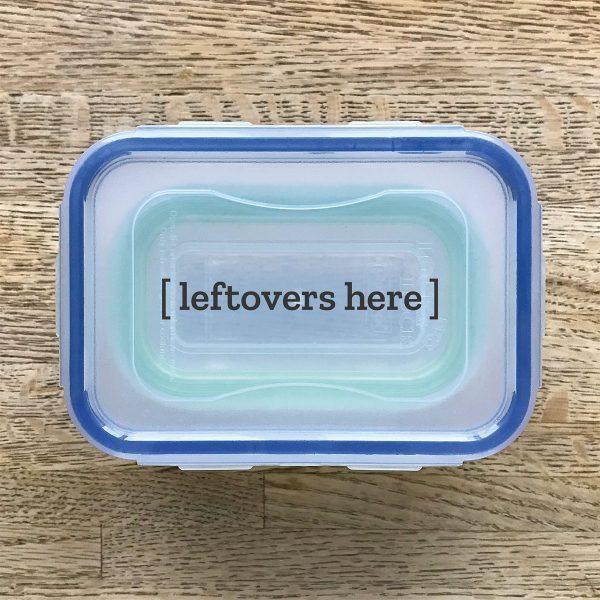 Tiny Trash Can Thanksgiving dinner tip