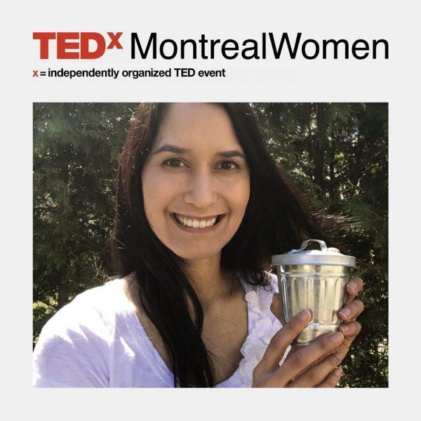 Tiny Trash Can Tippi Thole TEDx Montreal Women