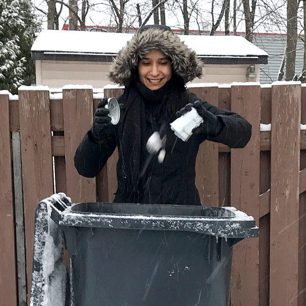 Tiny Trash Can Tippi Thole zero waste new year's resolution