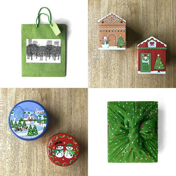 Tiny Trash Can zero waste gift wrapping ideas